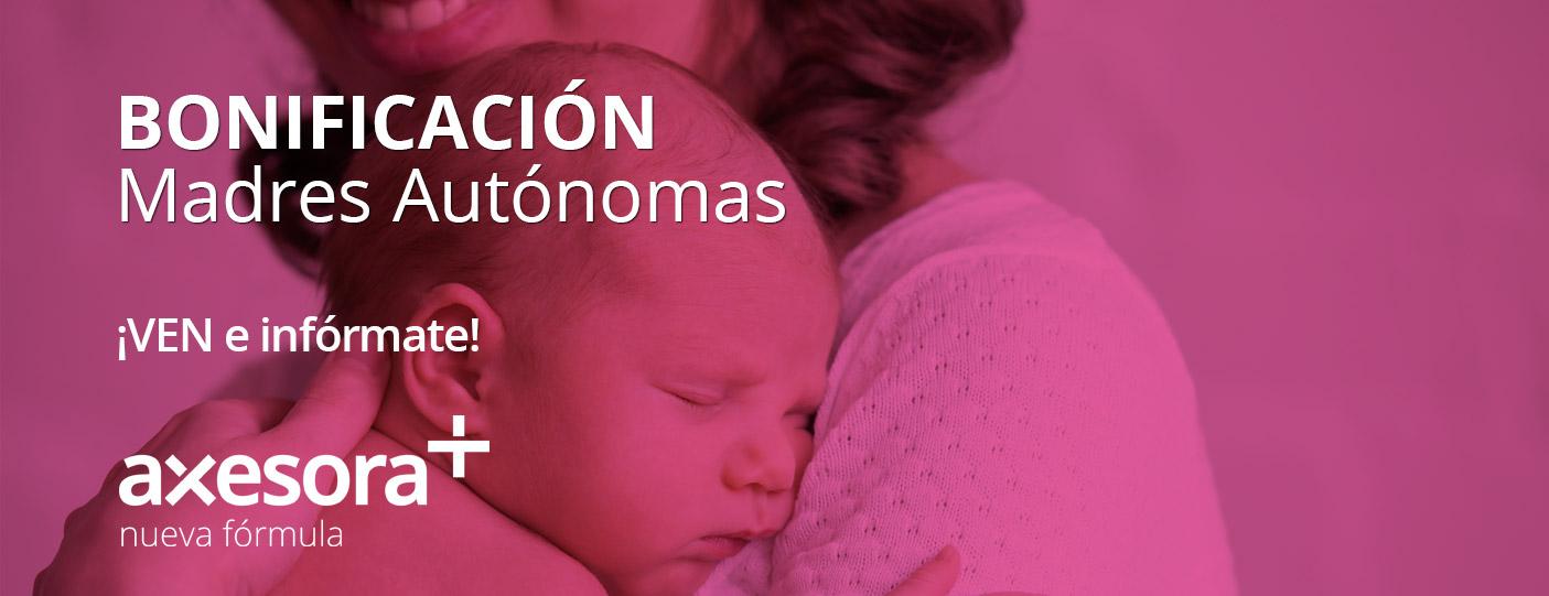 Novedad Ley Autónomo: Bonificación Maternidad